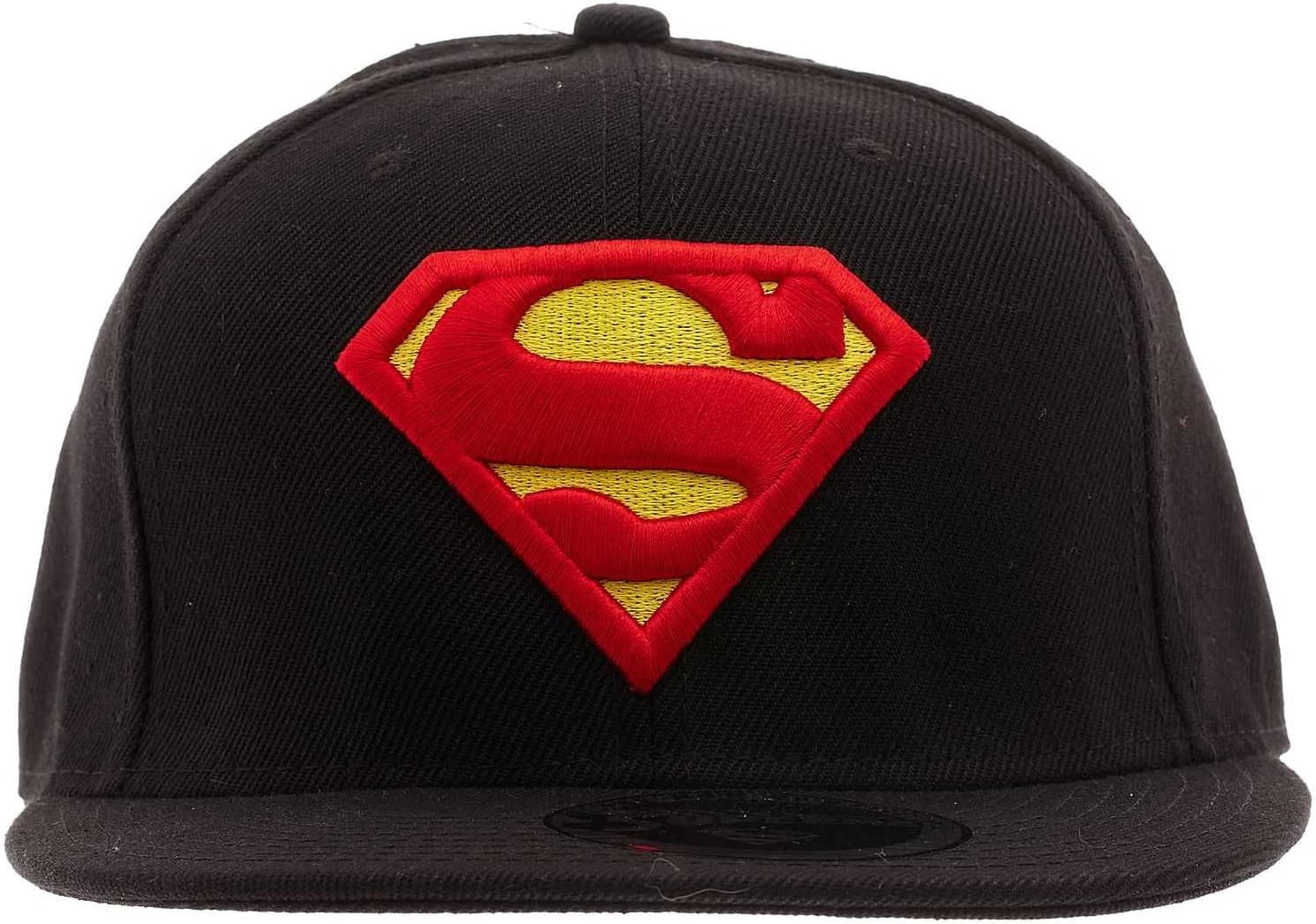 Cotton Division Gorra Superman Classic Logo (Negro): Amazon.es ...