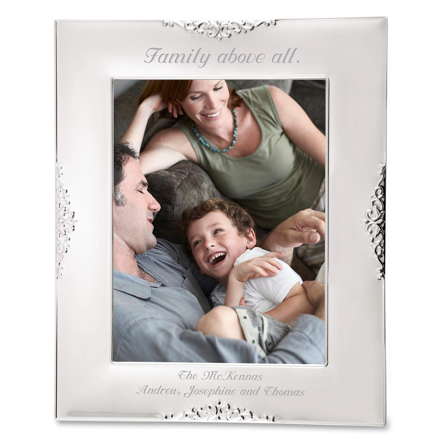 Things Remembered Personalized Heirloom Silver Picture Album with Engraving Included by Things Remembered (Image #2)