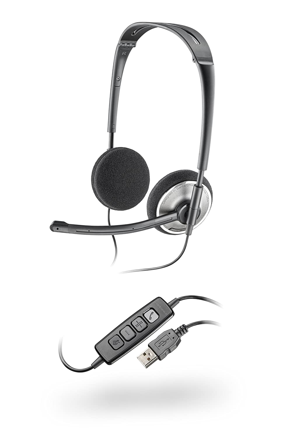 Plantronics PLNAUDIO478 Stereo USB Headset fOR PC Audio 478