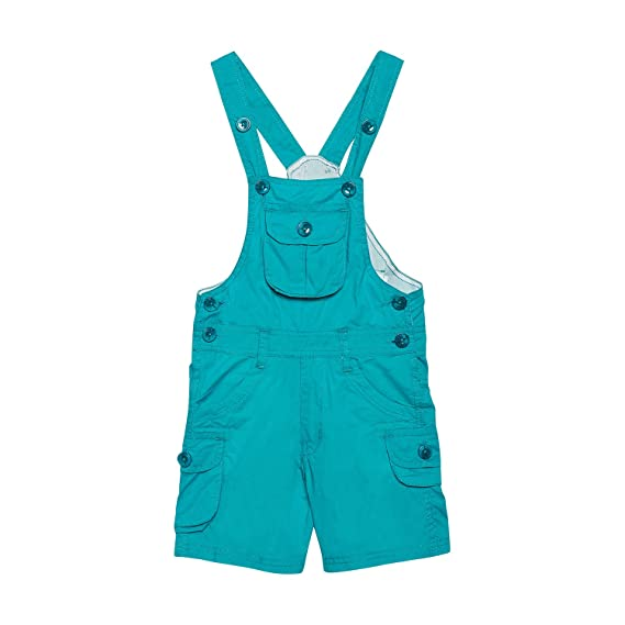 309d350a3aa FirstClap Cotton Knee Length Dungaree for Boys   Girls
