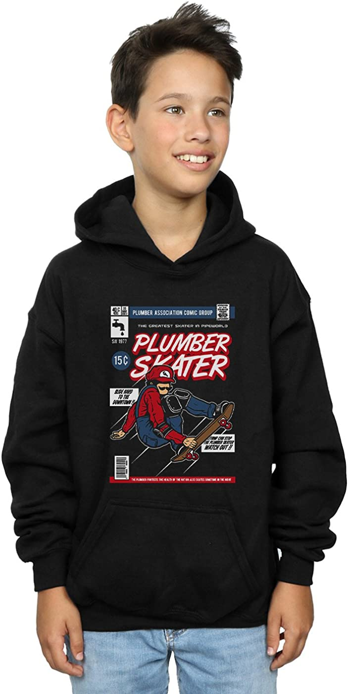 Drewbacca Boys Plumber Skater Hoodie