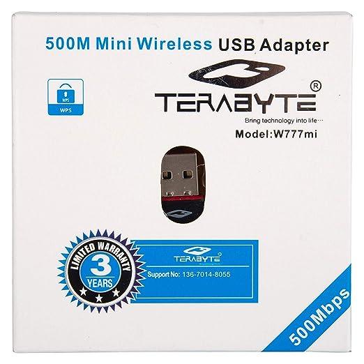 Terabyte 450MBPS Wireless N USB Adapter  Multicolor  Wireless USB Adapters