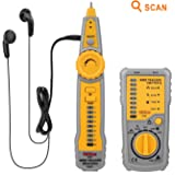 Tacklife CT01 Classic Wire Tracker RJ11 RJ45 Line Finder Cable Tester for Network Cable Collation, Telephone Line Test, Continuity Checking - Ideal Father's Day Gift
