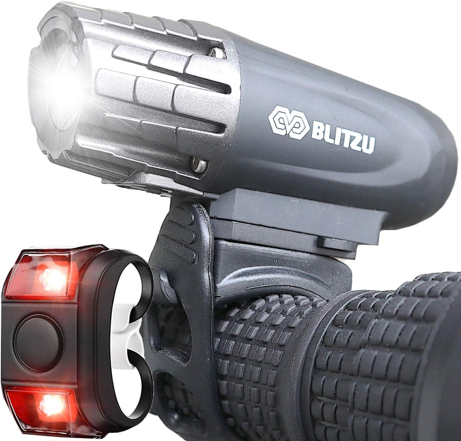 BLITZU Gator USB Rechargeable Bike Light