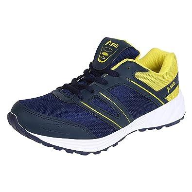 f7bc3f00ad11b9 AMG Aero Performance Men Running Shoes (BLUE