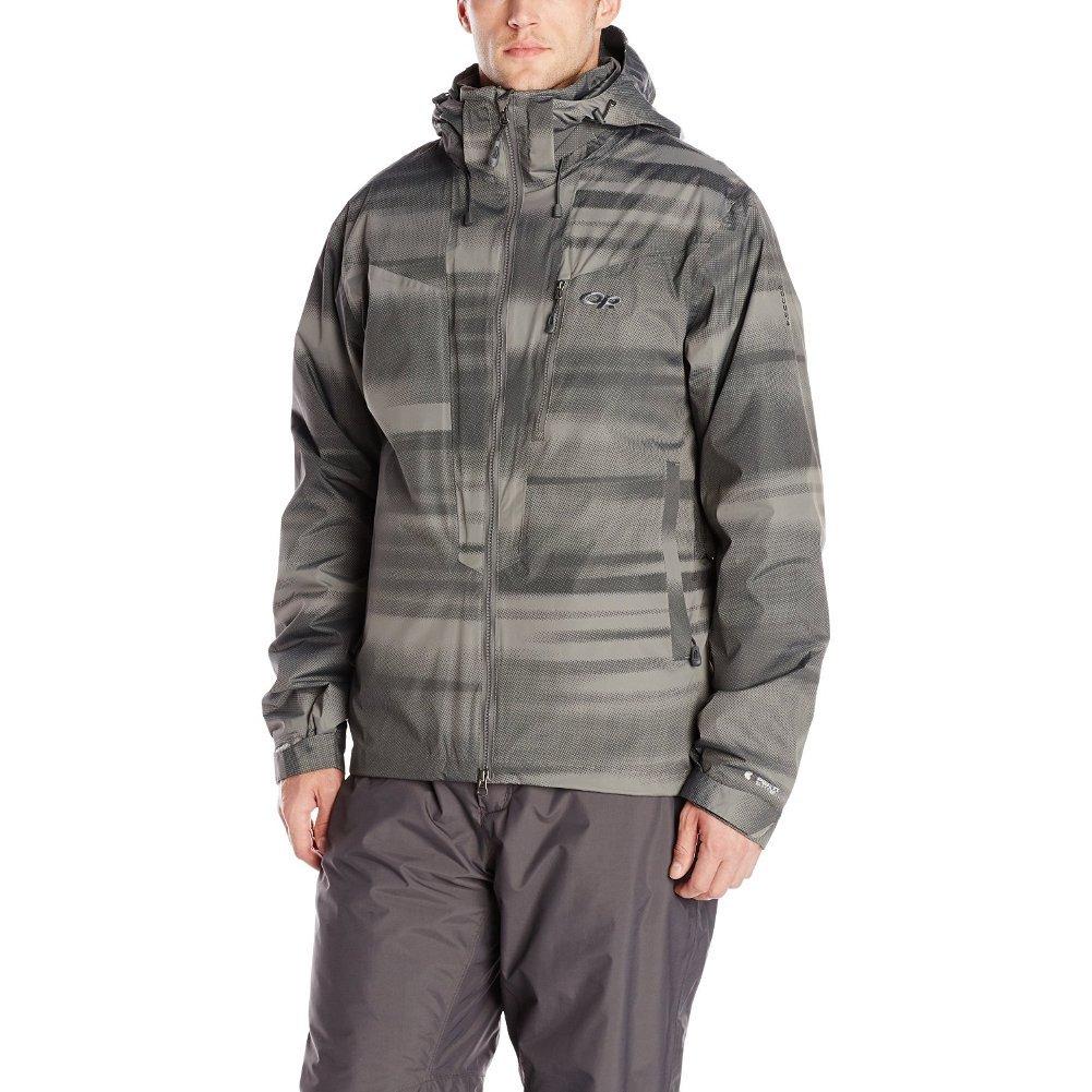 Outdoor Research Men's Igneo Jacket, Pewter Print, Medium