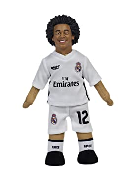 Producto Oficial Real Madrid CF Muñeco Real Madrid CF 2018-2019 Peluche - 25cm -