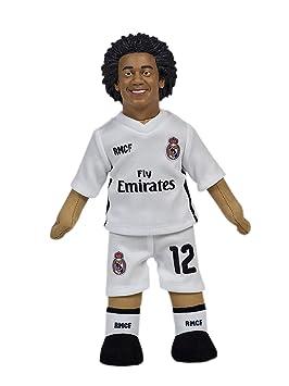 adb18af94a463 Producto Oficial Real Madrid CF Muñeco Real Madrid CF 2018-2019 Peluche -  25cm - Marcelo 12  Amazon.es  Deportes y aire libre