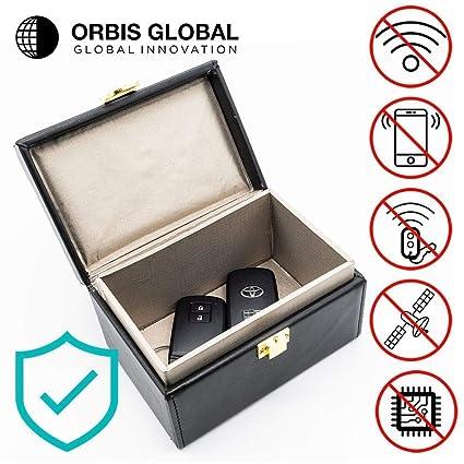 Orbis Global Inhibidor de frecuencia para coche Jaula de Faraday ...