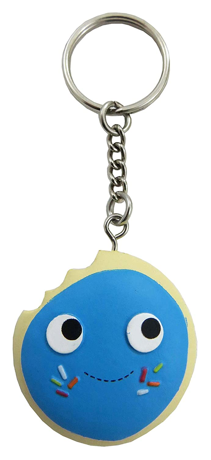 Kidrobot Yummy World Ice Cream Sandwich 2' 3D Vinyl Keychain 2/24 Case Ratio New