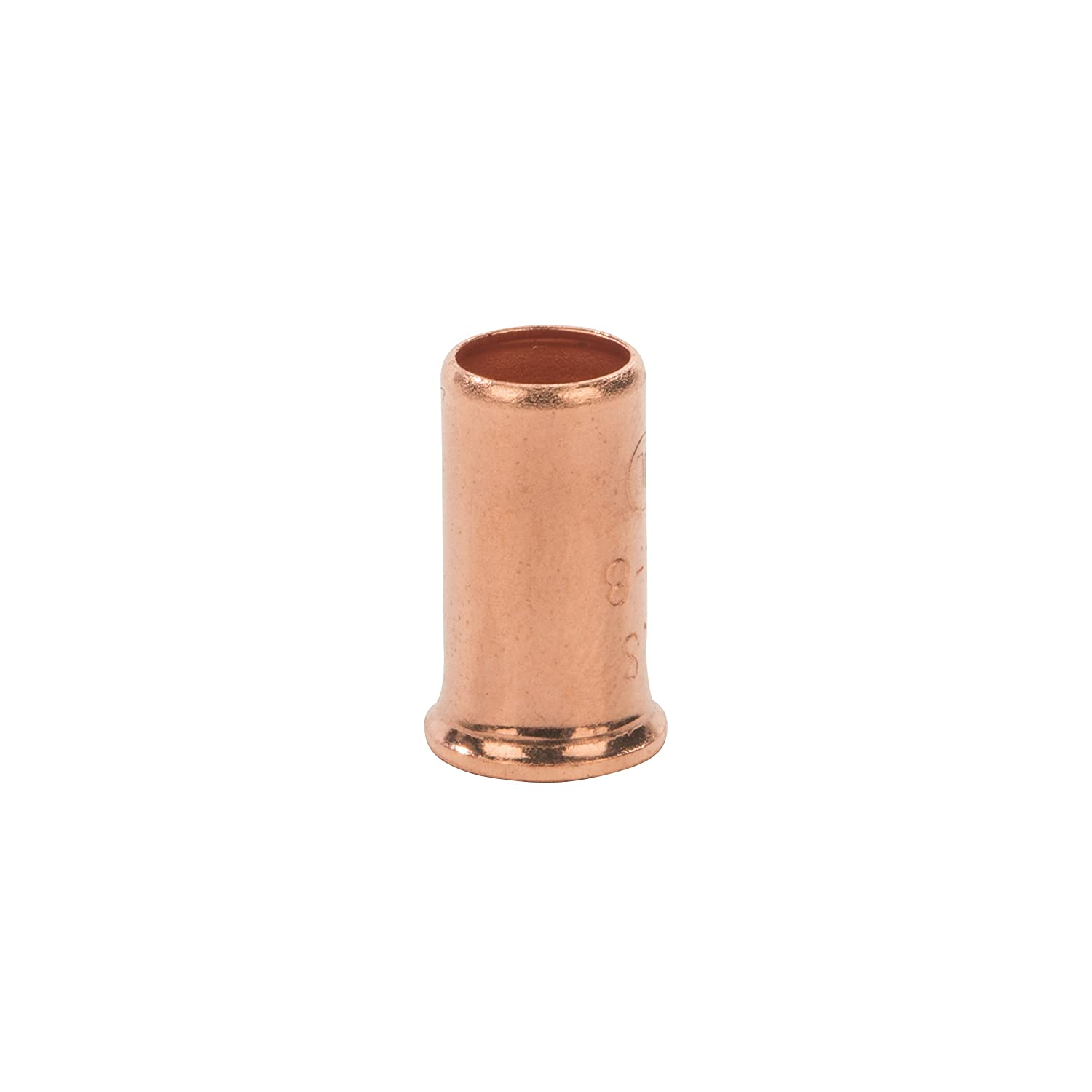 Blister Box of 100 18-8 AWG Wire Range Easy-Twist Copper Crimp Sleeve Wire Connector