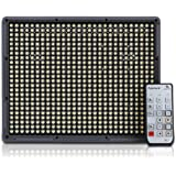 New Aputure High Quality LED Video Lighting Amaran HR672C CRI95+ 672 LED Bulbs High Brightness Adjustable Color Temperature LED Video Camera Light Supports 2.4G FSK Wireless Remote Control 100M