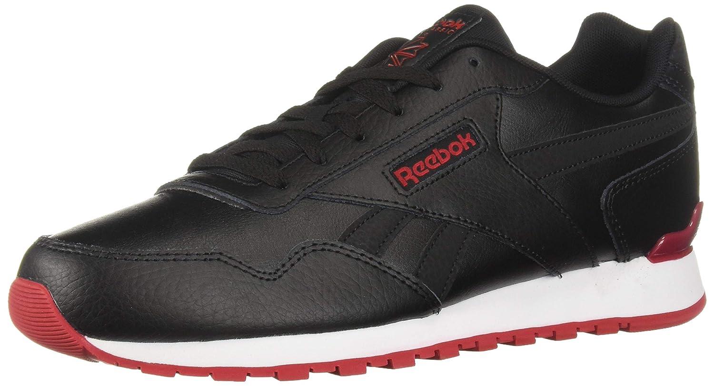Reebok Classic Harman Turnschuhe für Herren, Schwarz (schwarz Excellent rot Weiß), 48 EU M