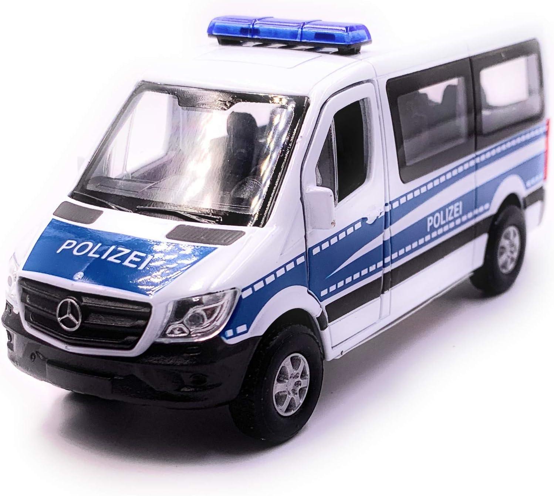 Onwomania Sprinter Polizei Modellauto Mit Wunschkennzeichen Auto Maßstab 1 34 Lizensiert Auto