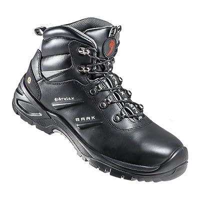"""'BAAK Alto Zapatos de seguridad S3""""Harrison Industrial extra amplio de Go & Relax, 1pieza, color negro, 40, negro"""