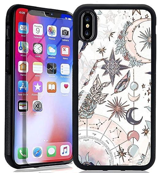 online store cbc10 b9c39 Amazon.com: Galaxy Constellation iPhone 6s 6 Case, TPU Hybrid Bumper ...