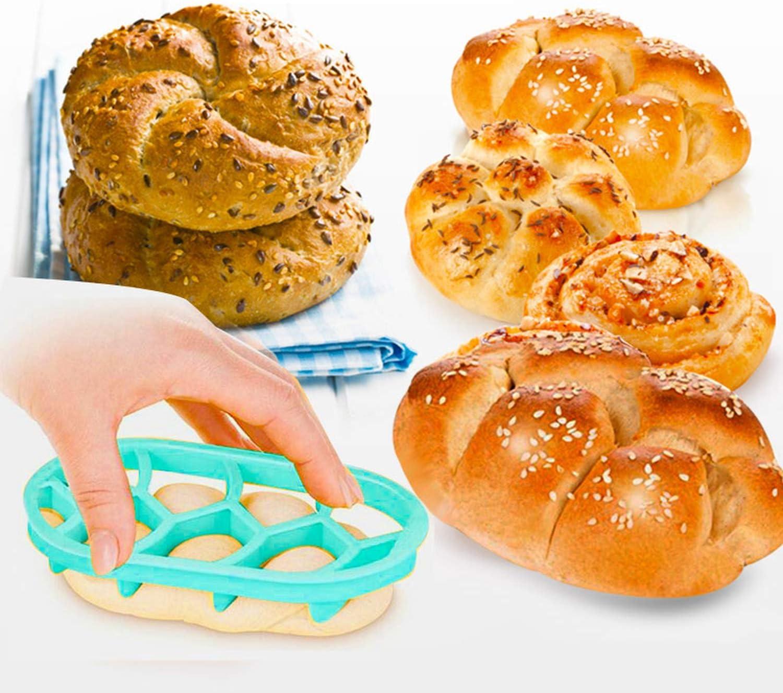 Moldes de pan ovalados circulares en forma de ventilador para ...
