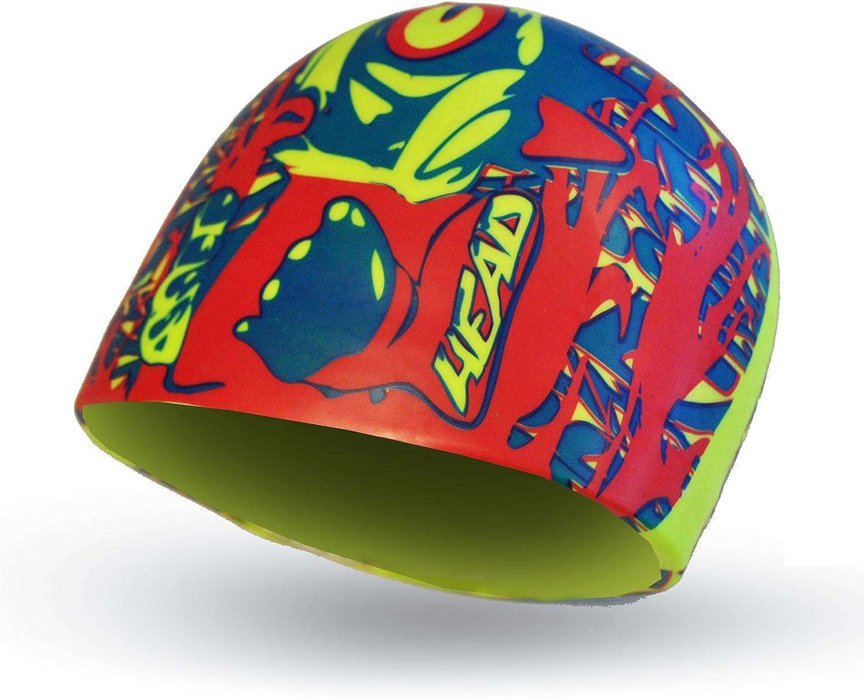 HEAD Cap Silicone Sketch Bonnet de Natation Mixte