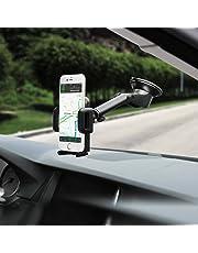 Mpow 【Versione AGGIORNATA】 Supporto Smartphone per Auto Culla Regolabile [Garanzia 24 Mesi] per Cruscotto Dashboard Parabrezza, Porta Cellulare per Molti Smartphone e DisposidiviSwitch, GPS