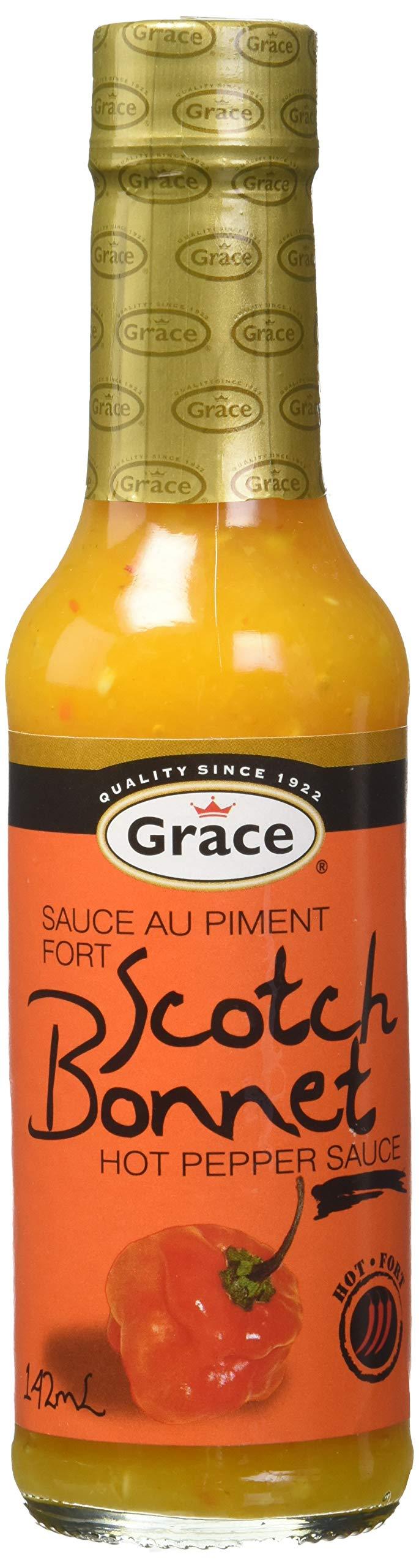 Grace Scotch Bonnet Sauce 4.8 oz
