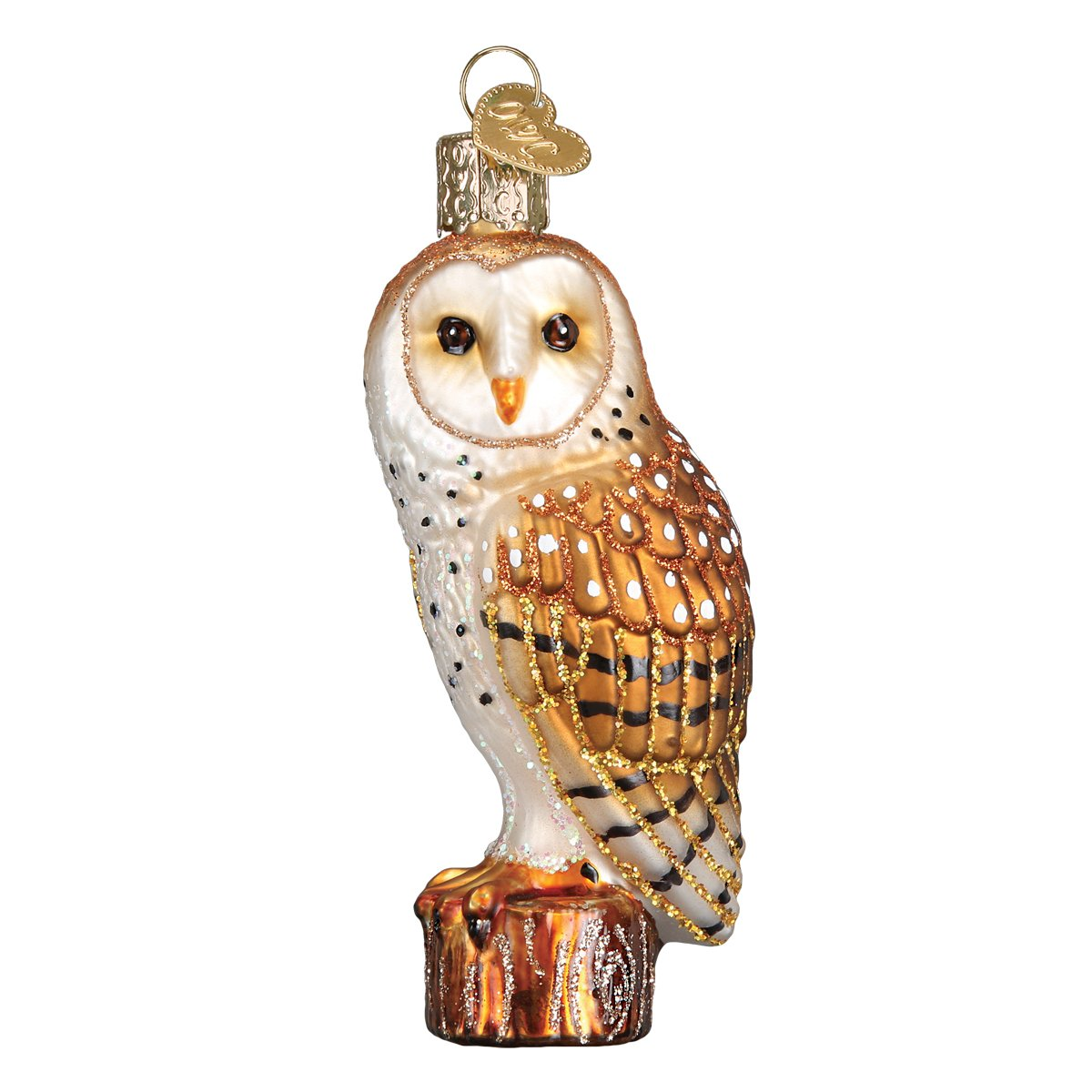 Old World Christmas 16118 Ornament Barn Owl
