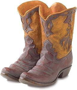 Gifts & Decor Western Theme Garden Decor Cowboy Boot Planter Outdoor