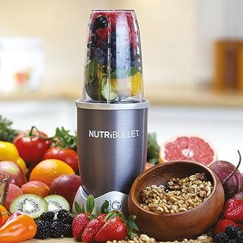 Set de 8 piezas rojas para polvo Nutribullet con bono Nutriblast Superboost Graphite 5pc: Amazon.es: Hogar