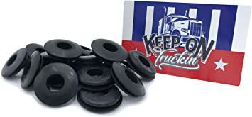 20 Pack of Glad Hand Seals For Trucks Trailers Double Lip Glad Hand Seals