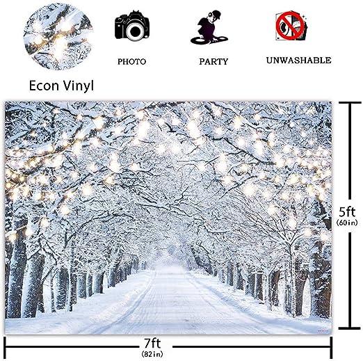 Funnytree 2 2 X 1 5 M Glitzer Winterwald Hintergrund Kamera