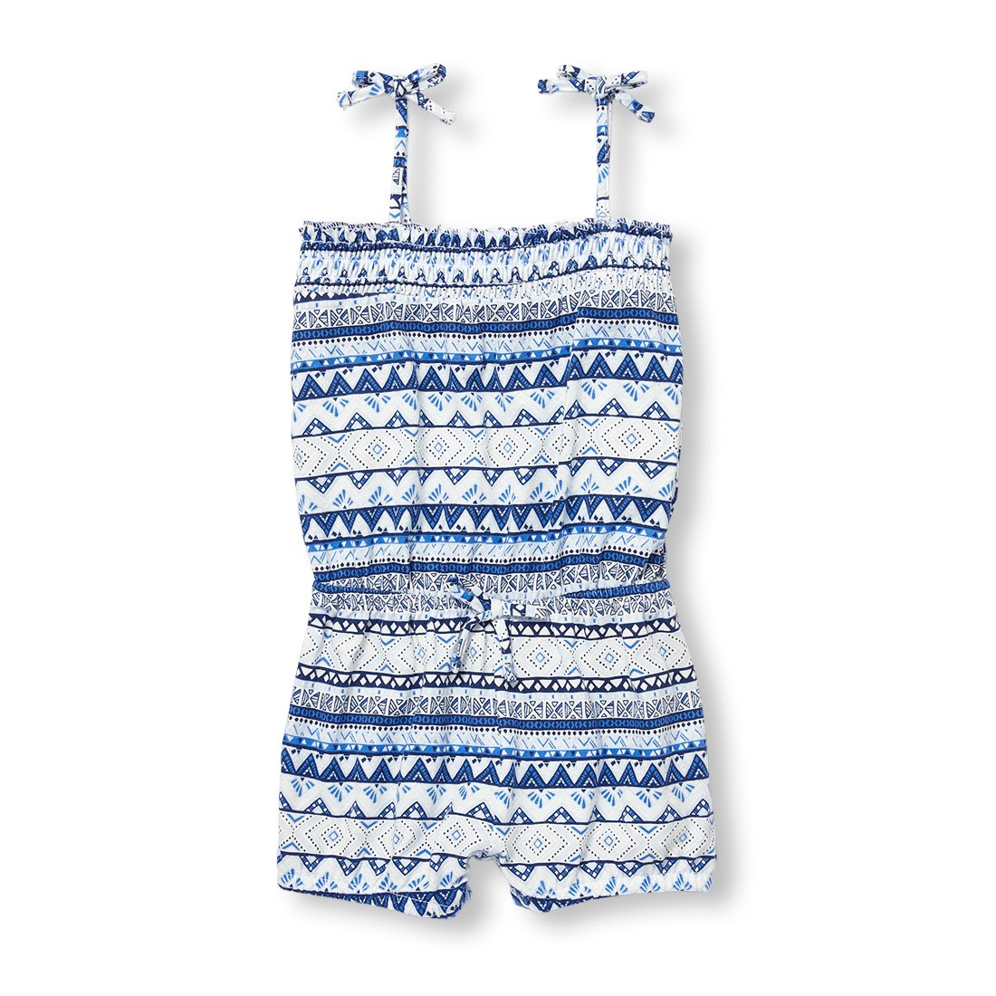 The Children's Place Baby Girls Sleeveless Romper, Simplywht 09001, 3T