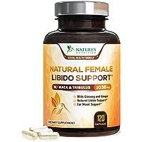 Female Libido Supplement Pills w Maca & Tribulus 1000mg - Excitement, Desire & Energy...