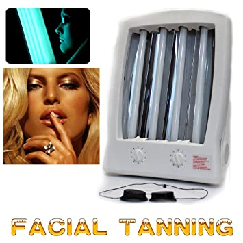 Reneetan Face Tanning Light Facial Sun Solarium Lamp 110v With Goggles The  New Year Present