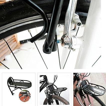 Bici Lega Anteriore Freno Portapacchi Deanyi Mini Ripiano Bicicletta 8n0mNw