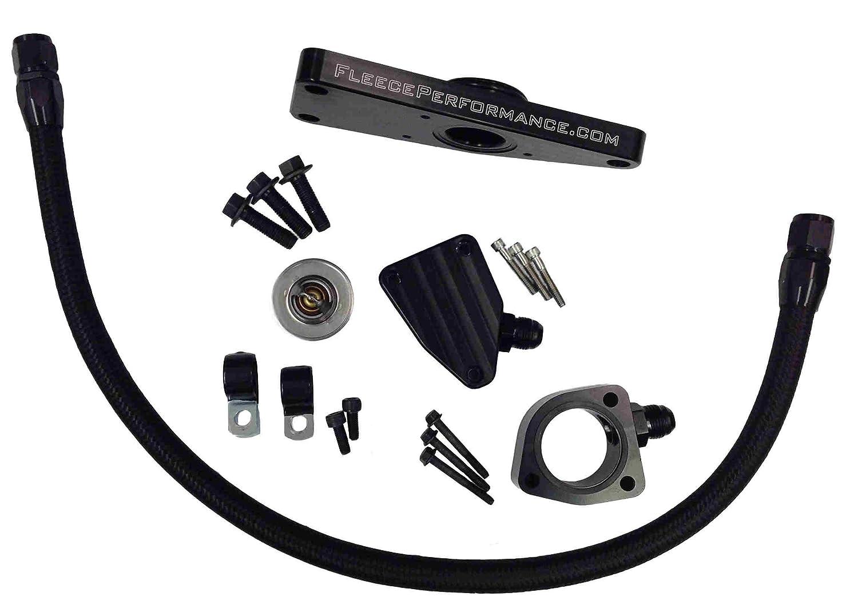 Fleece Performance Coolant Bypass Kit Compatible with 2007.5-2018 Dodge Ram 6.7L Cummins Diesel