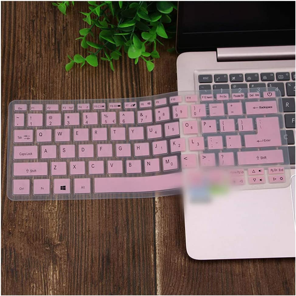 for Acer Swift Sf113 S5 371 Sf514 Sf5 Swift 5 Swift 3 Aspire S13 14 Sf314 Spin 5 13.3'' Laptop Keyboard Cover Skin Protector,Pink