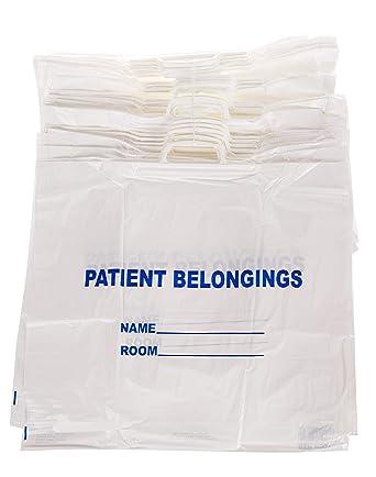 Amazon.com: Bolsa de pertenencia para paciente – Bolsas de ...