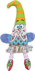 Petstages 747 Madcap Frazzled Fairy Cat Catnip Toss and Bat Plush Toy