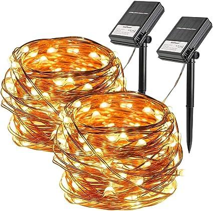 33ft 100 LEDS String Lights Waterproof Copper Wire Fairy Outdoor Garden Part