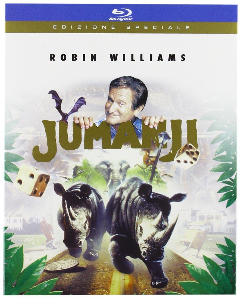Jumanji [Italia] [Blu-ray]: Amazon.es: Kirsten Dunst, James Horner, Bonnie Hunt, Robin Williams, Joe Johnston, Kirsten Dunst, James Horner: Cine y Series TV