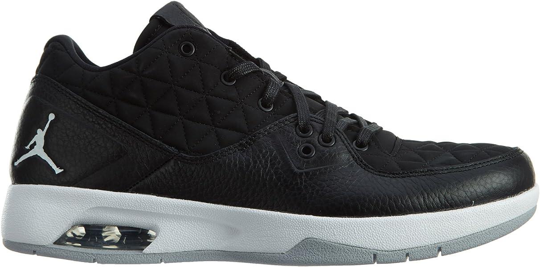 0f1a4e77e5f579 Amazon.com  Jordan Nike Mens Clutch Black White-Wolf Grey Leather Size 11   Shoes