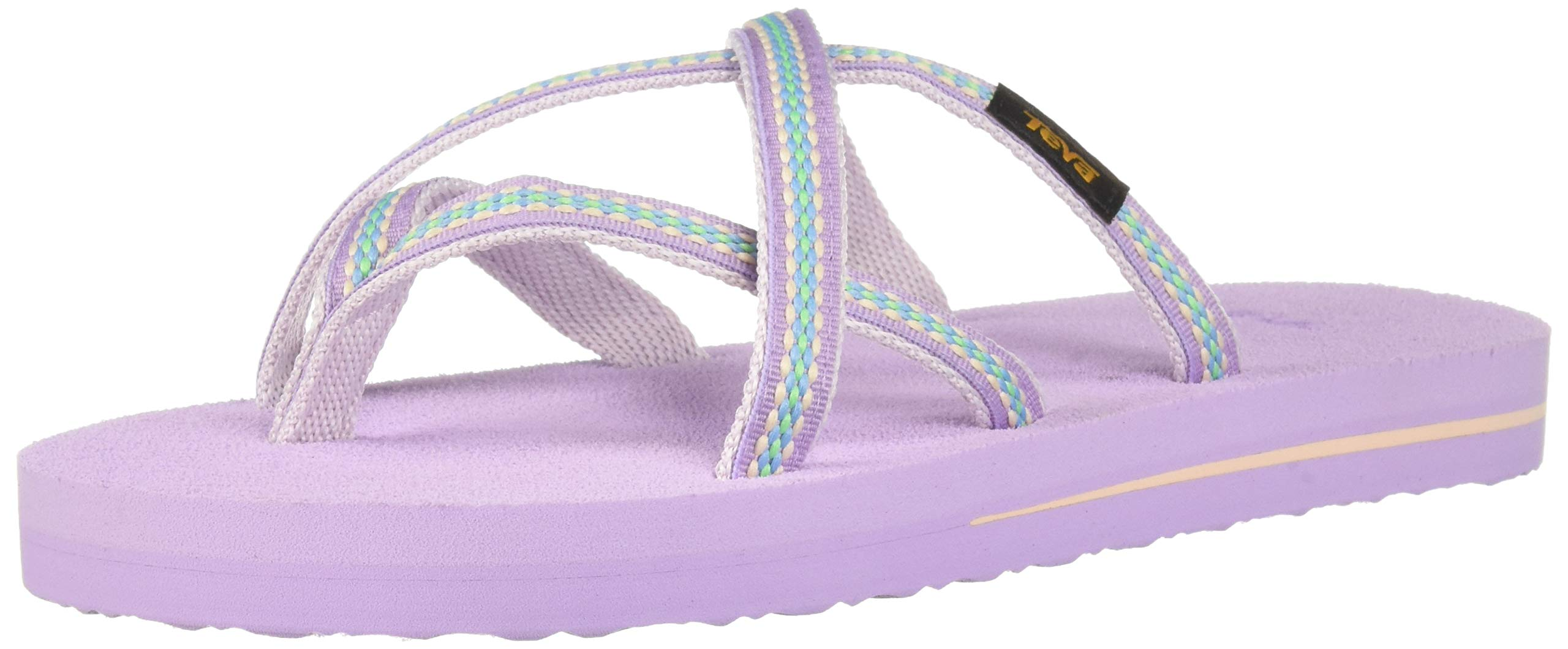 Teva Girls' Y Olowahu Sport Sandal, Lindi Orchid Bloom, 7 Medium US Big Kid by Teva (Image #7)
