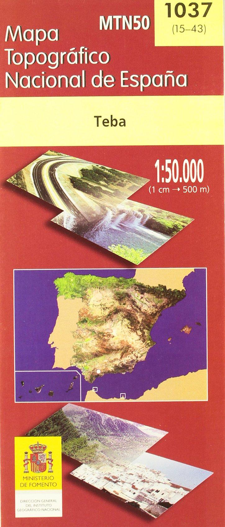 MTN50 - Mapa Topográfico Nacional de España: Amazon.es: Aa.Vv.: Libros