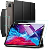 ESR Yippee Trifold Smart Case for iPad Pro 12.9 2020 with Screen Protector, [Auto Sleep/Wake] [Supports Pencil Wireless Charg