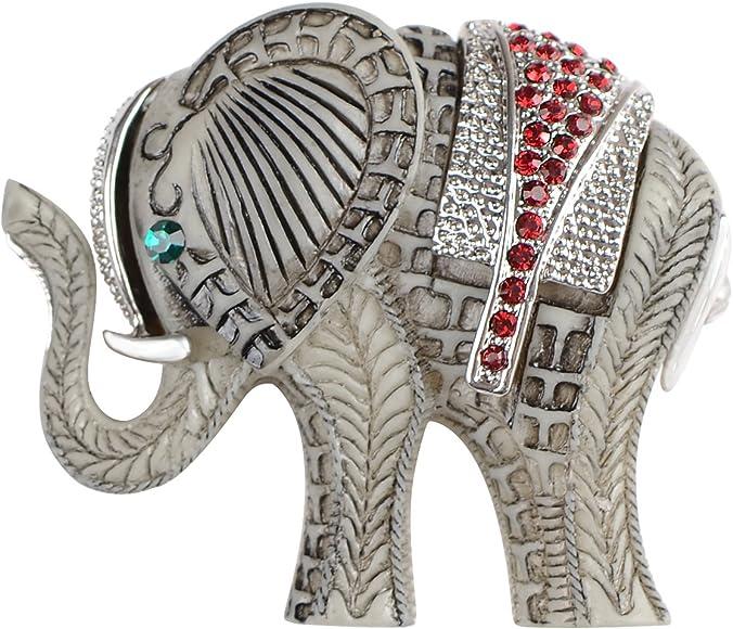 Amazon.com: Alilang indio, King, africano elefante rojo rubí ...