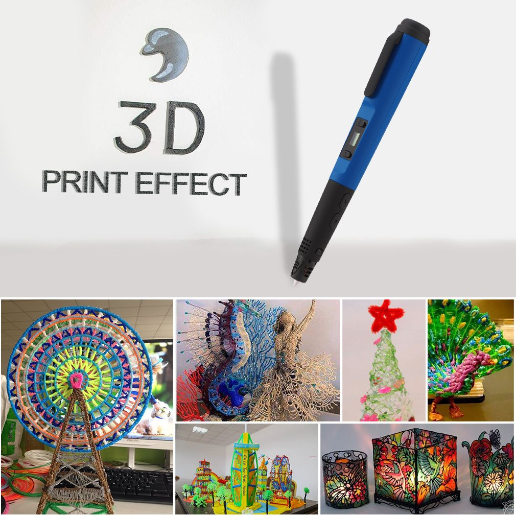 Amazon.com: Lápiz de impresión 3d, leshp profesional de mano ...