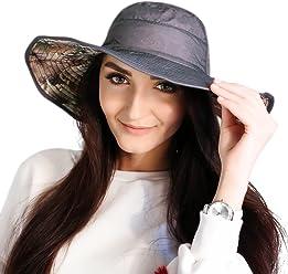 Outdoor Boonie Sun Fishing Hat - Quick Dry Waterproof Safari Summer Reverse  Hat 99949edfe322