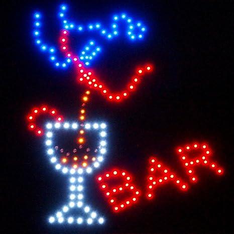C&K Cartel led XXL Bar A2 Placa publicitaria (Leuchtreklame ...