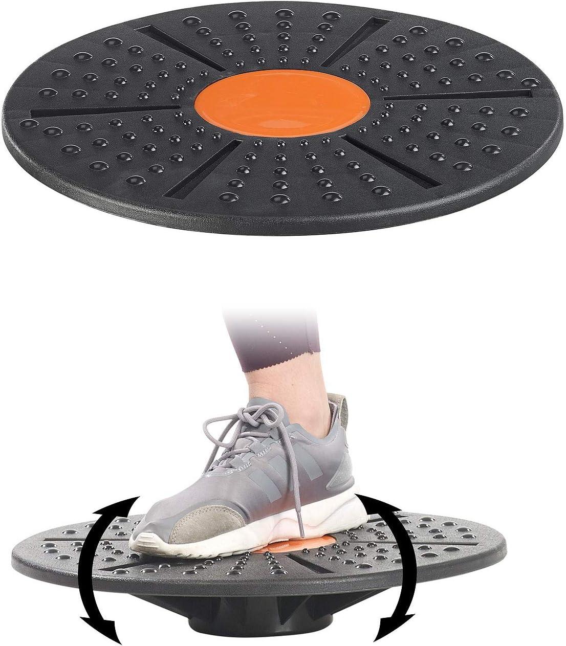 /Ø 40 cm Balance Board f/ür Gleichgewichts und Koordinations-Training PEARL sports Sport-Fitnesskreisel Sportkreisel