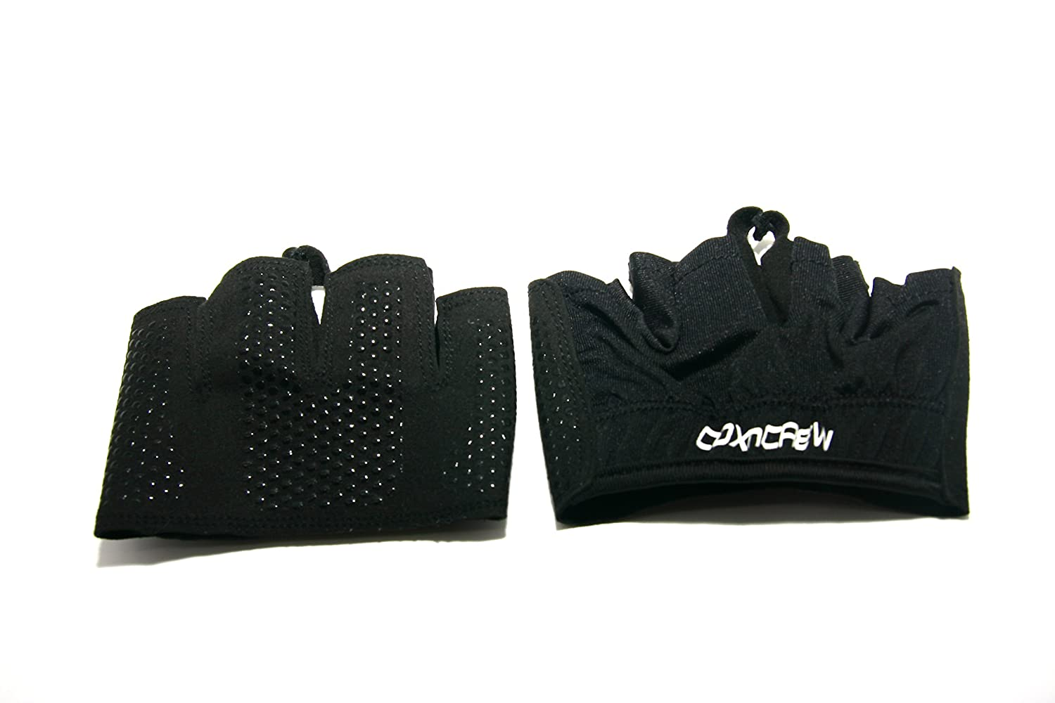 Amazon.com : COXnCREW Non Slip Indoor Rowing Fitness Workout Black Grip Glove For Protecting Hands : Sports & Outdoors