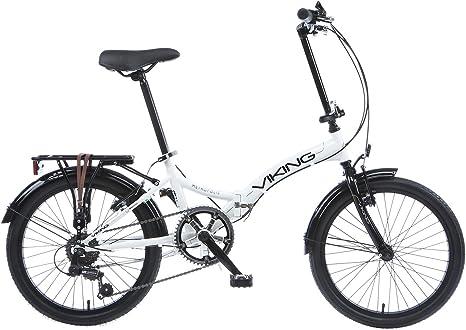Bicicleta plegable para bicicleta Viking Easy Street Folder Blanco ...
